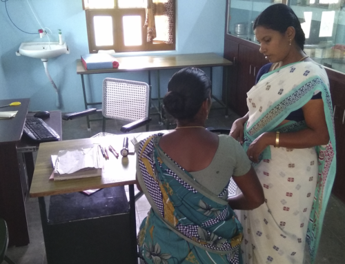 Improvement works in the health centre Annai Valiankanni have been finished