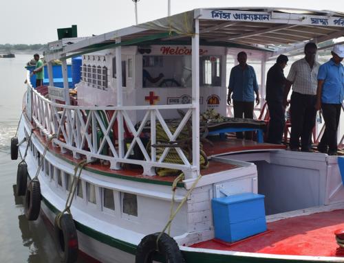 El ICOMEM vuelve a apoyar el proyecto del barco hospital