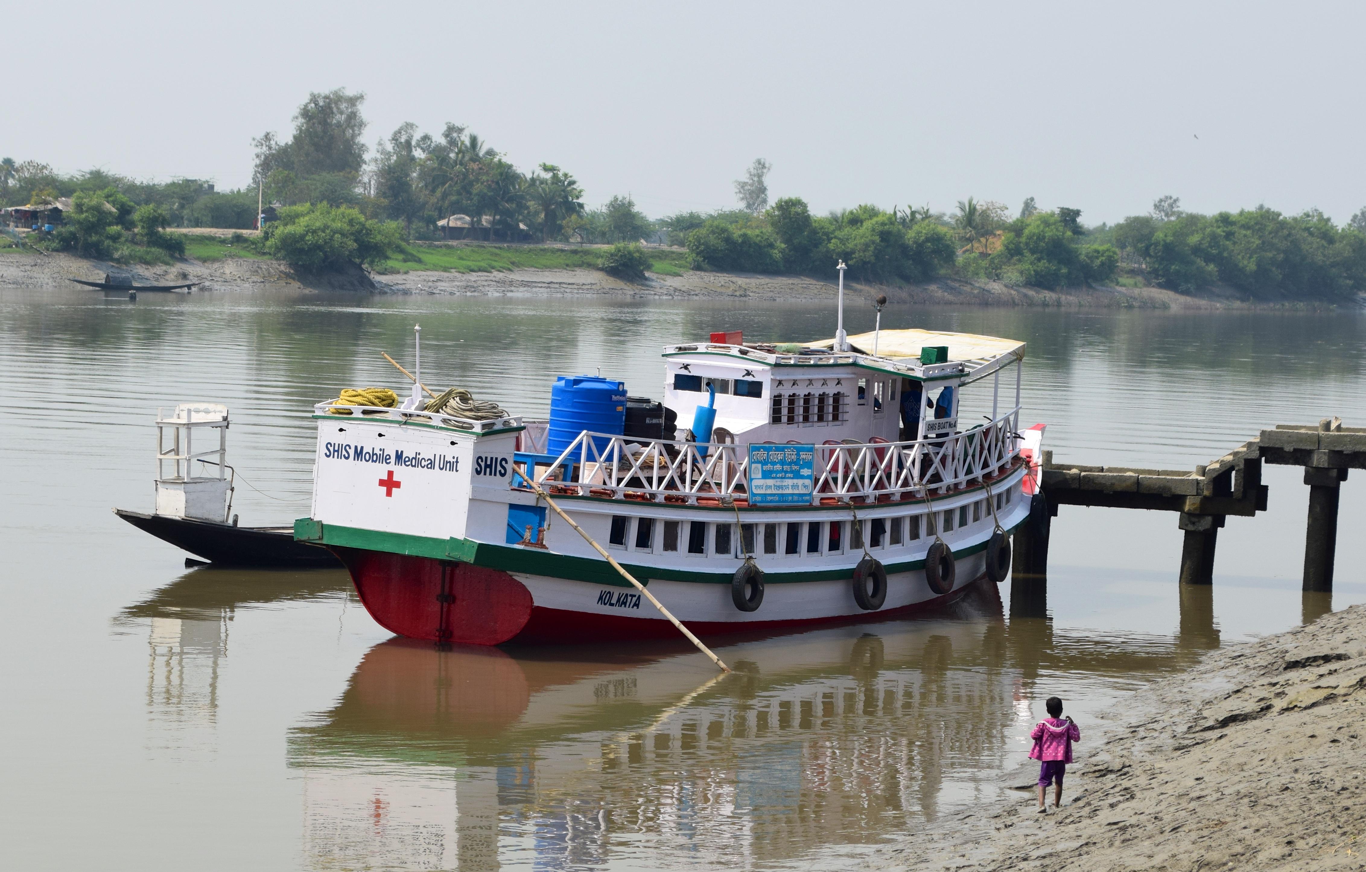 Proyecto del barco hospital en el delta del Ganges