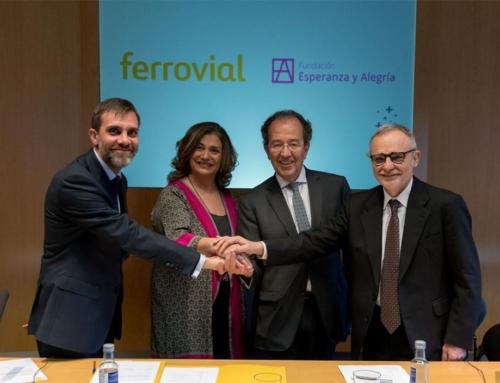 Ferrovial financiará el proyecto de mejora de las condiciones de habitabilidad de los Hogares St. Joseph y Mother Theresa
